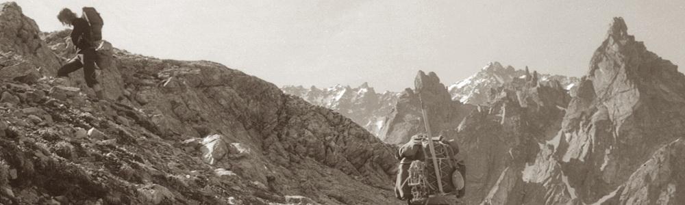 Ascent to the Kaunergrat Hütte from Verpeilhütte, Austria