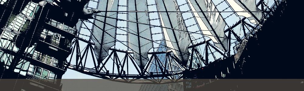 Roof of the Sony Center (Helmut Jahn, 1998-2000), Berlin