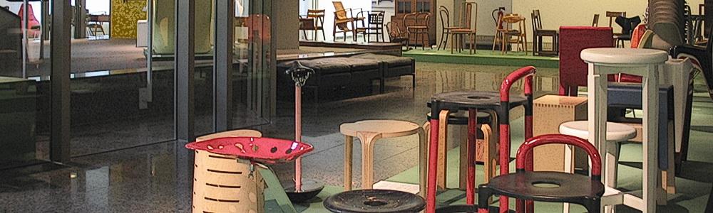 Things to sit on in the Kunstgewerbemuseum, Berlin